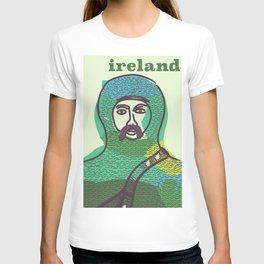 Ireland vintage travel poster print T-shirt
