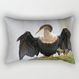 Anhinga or Snakebird Rectangular Pillow
