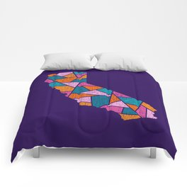 California Mosaic - Fun in the Sun Comforters