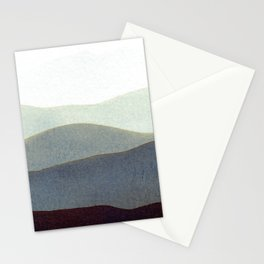Mountains Storm Stationery Cards