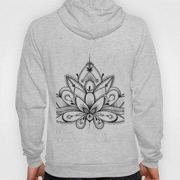 Boho Lotus Hoody