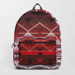 Red Fractals Backpack