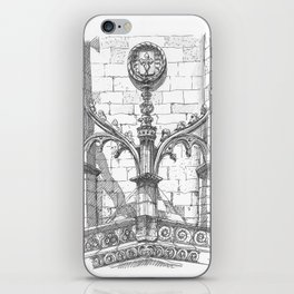flying buttress iPhone Skin
