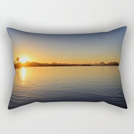Lake Havasu Sunrise Rectangular Pillow