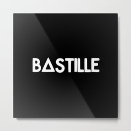 Bastille Metal Print