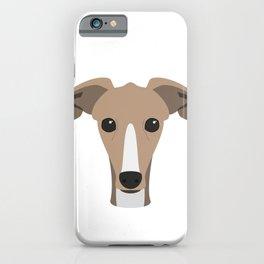 Greyhound dog iPhone Case