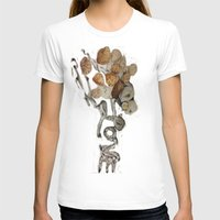seashell T-shirts featuring Seashell Love by Ingrid Lliguin