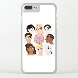 The Cluster Clear iPhone Case