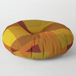 Golden Harvest Floor Pillow