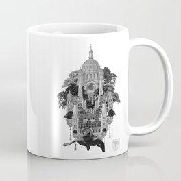 Swimming City Coffee Mug