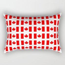 flag of canada 3-canadian,canadien,canadiense,ottawa,toronto,montreal. Rectangular Pillow