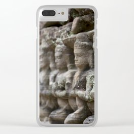 female spirits of the clouds and waters Clear iPhone Case