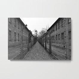 Auschwitz, Poland. Metal Print