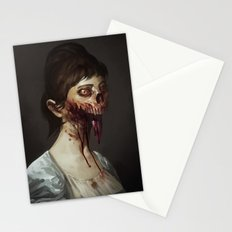 Old Zombie Portrait Stationery Cards