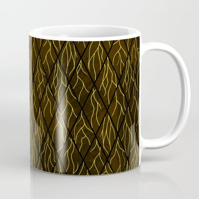 Earthen Scales, Golden Streams Coffee Mug