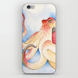 The Nervous Octopus iPhone Skin