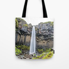 Smooth Svartifoss Tote Bag