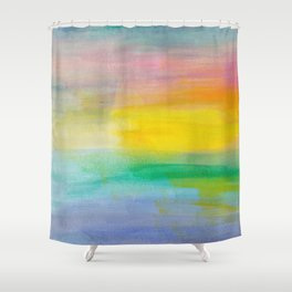 Ocean Sunrise Series 2 Shower Curtain