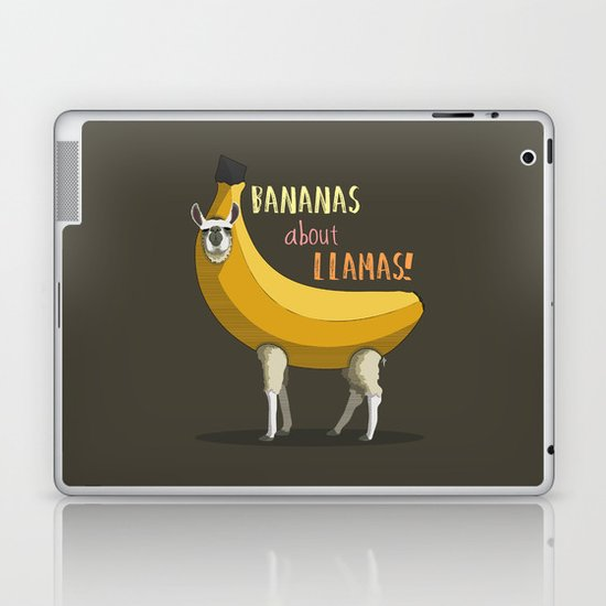 Bananas About Llamas! Laptop & iPad Skin