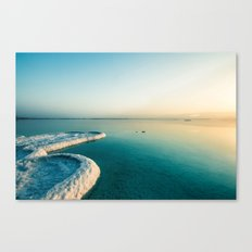 Sea view Dead Sea Sunrise Canvas Print