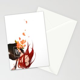 Flower Murder (Lauren) Stationery Cards