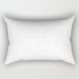 ICE HOCKEY DAD Rectangular Pillow