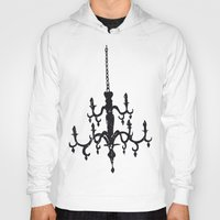 chandelier Hoodies featuring Chandelier by Justin Kendall