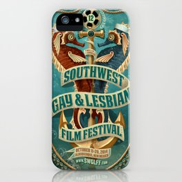 Southwest Gay & Lesbian Film Festival 2014 iPhone Case