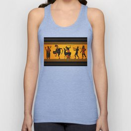 Ancient Greece Painting Unisex Tank Top