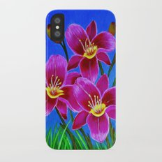 Day lilies Slim Case iPhone X