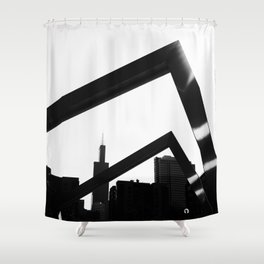 re-gentrification Shower Curtain