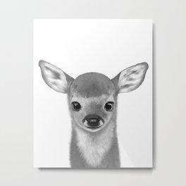 Little fawn Metal Print