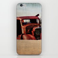 truck iPhone & iPod Skins featuring Survivor Truck by PamelasDreams