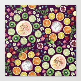 Fruit fun Canvas Print