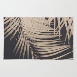 Palm Leaves Sepia Vibes #1 #tropical #decor #art #society6 Rug