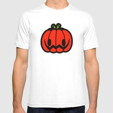 Halloween series - Halloween pumpkin MEDIUM Mens Fitted Tee White