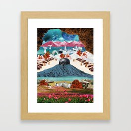 Guardian of the ghost world Framed Art Print