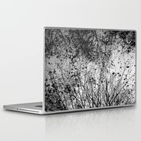 leaves Laptop & iPad Skins featuring Branches & Leaves by David Bastidas
