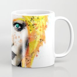 Freckle Face Girl Coffee Mug