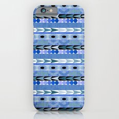 Play Date Blues Slim Case iPhone 6s
