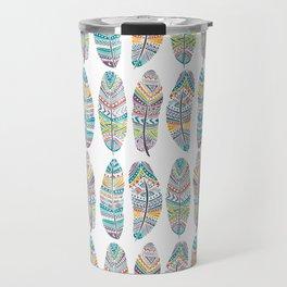 Amazon Feathers Travel Mug