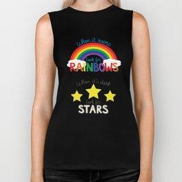 Rainbows & Stars Biker Tank