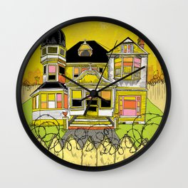 Your Home is Your Castle Wall Clock