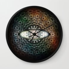 The Eye Beholds Wall Clock
