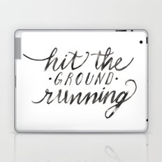 Hit the Ground Running Laptop & iPad Skin