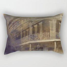 On the Corner of St. Ann & Decatur Rectangular Pillow