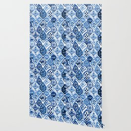 Arabesque tile art Wallpaper