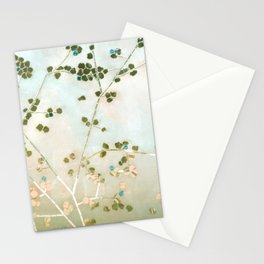 mosaica glitterati in blue + gold Stationery Cards
