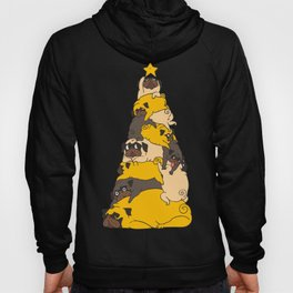 Christmas Tree Pugs Hoody