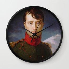 Napoléon Bonaparte Premier Consul Wall Clock